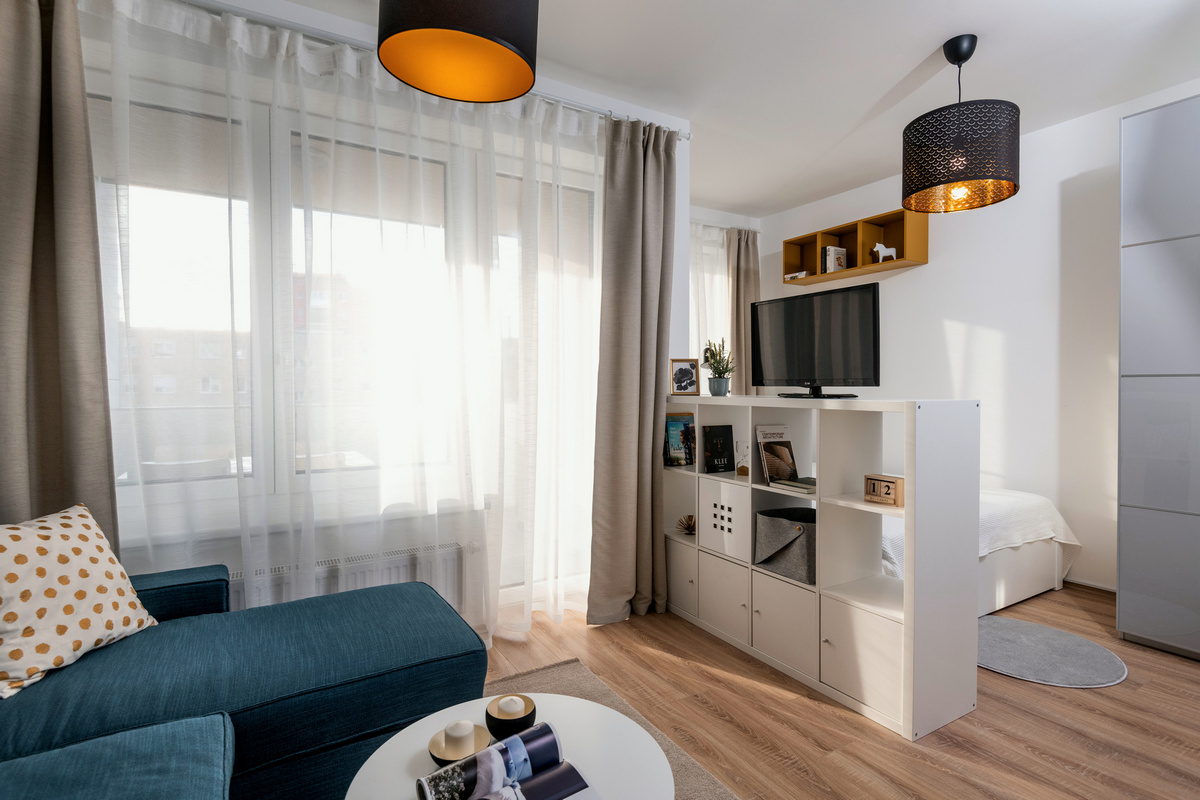 Kicentizett lakályosság 30 négyzetméteren